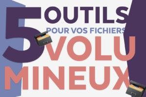 Quels sont les cinq outils pour aider les freelances auto-entrepreneur avec les fichiers volumineux.